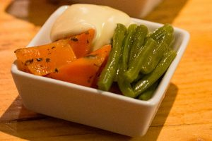 Side dish of vegetables